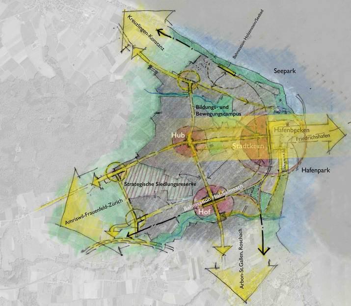 Stadtentwicklung Richtplan